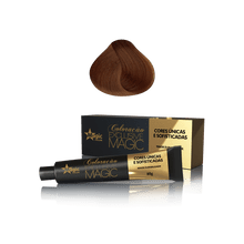 Coloracao-Exclusive-Magic----8_34---Loiro-Claro-Dourado-Acobreado---60g