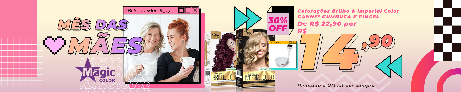 Banner- Exclusive Blond e Magic