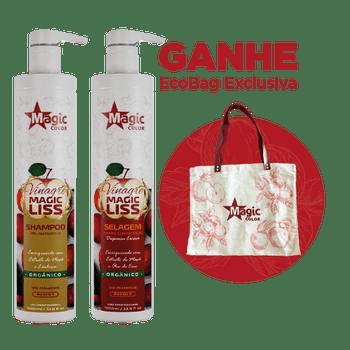 Kit-Vinagre-Magic-Liss-Shampoo---Selagem-1L
