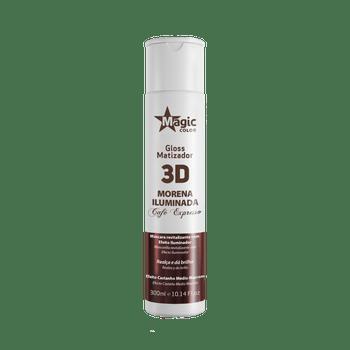 Gloss-Matizador-3D-Morena-Iluminada-Cafe-Expresso-Magic-Color-–-Efeito-Castanho-Medio--Marrom-300ml
